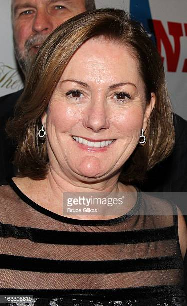 Producer Kate McCauley Hathaway attends the opening night of Ann at Vivian Beaumont Theatre at Lincoln Center on March 7 2013 in New York City