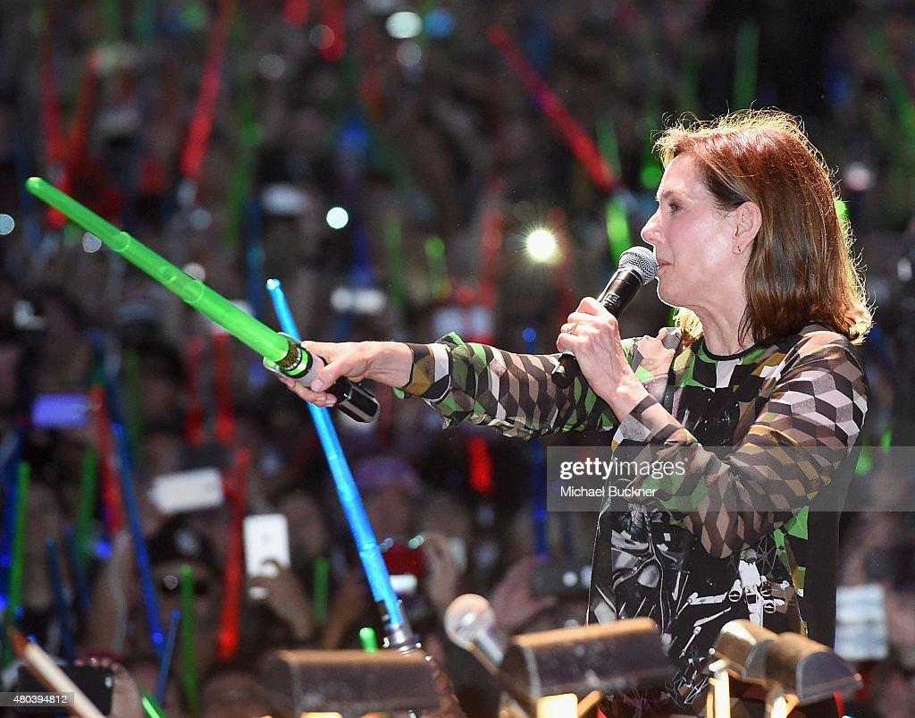 Star Wars: The Force Awakens Panel At San Diego Comic Con - Comic-Con International 2015 : News Photo