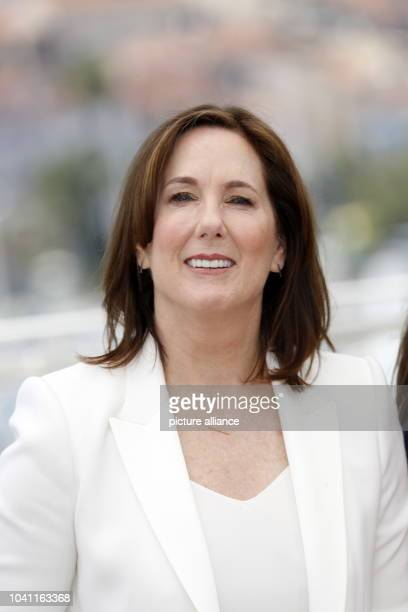 Producer Kathleen Kennedy attends the photocall of 'The BFG' during the 69th Annual Cannes Film Festival at Palais des Festivals in Cannes, France,...