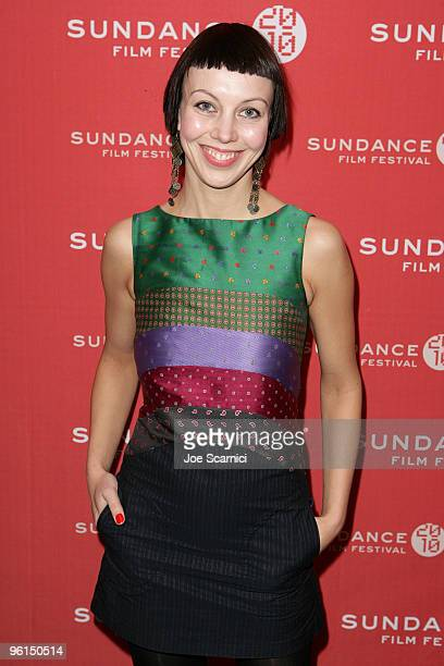 Producer Katrin Kissa attends the The Temptation Of St Tony premiere during the 2010 Sundance Film Festival at Prospector Square on January 24 2010...