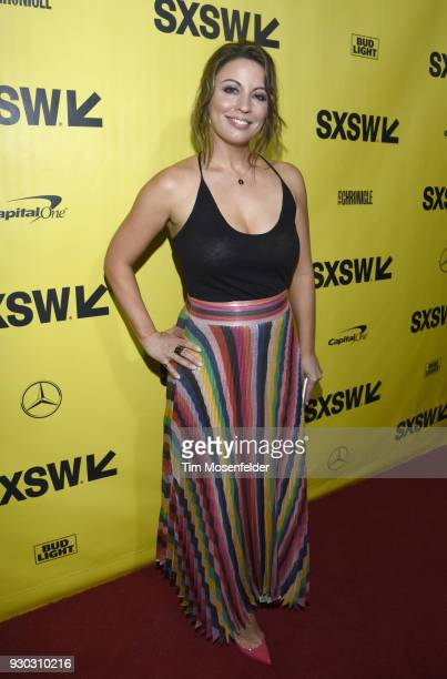 Producer Kay Cannon attends the 'Blockers' Premiere at the Paramount Theatre on March 10 2018 in Austin Texas