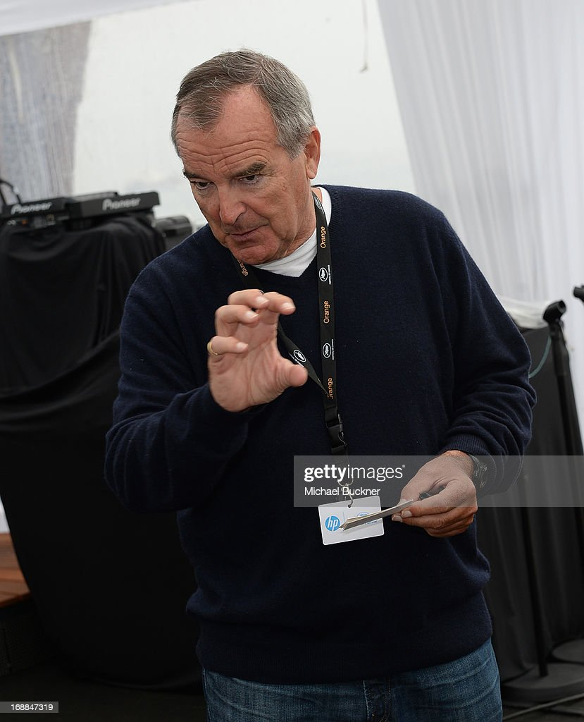Producer Ken Davidson attends the Torch Cannes - 'Lone