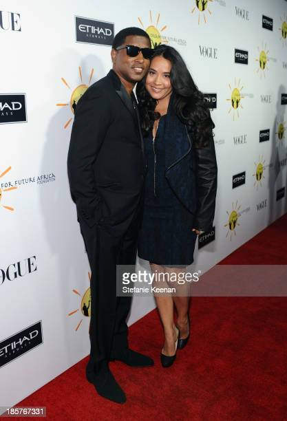 Producer Kenneth Babyface Edmonds and Nicole Pantenburg attend Dream for Future Africa Foundation Inaugural Gala honoring Franca Sozzani of VOGUE...