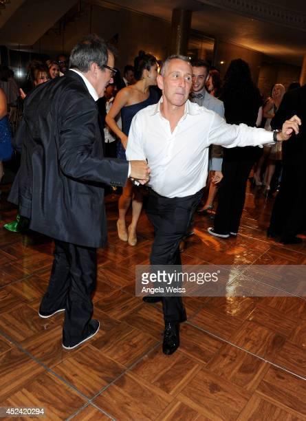 Producer Kenny Ortega and Copresident Dizzy Feet Foundation Adam Shankman attend Dizzy Feet Foundation's Celebration Of Dance Gala at The Music...