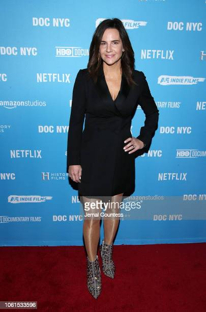 Producer Kerianne Flynn attends the This Changes Everything New York premiere at DOC NYC with presenting sponsors Lyft Entertainment and NYWIFT at...