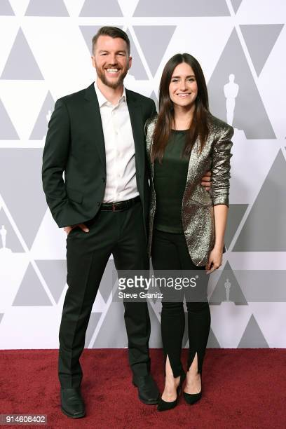 Producer Kerrin Sheldon and director/producer Elaine McMillion Sheldon attend the 90th Annual Academy Awards Nominee Luncheon at The Beverly Hilton...