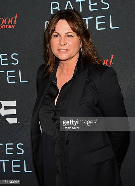 Producer Kerry Ehrin attends AE's Bates Motel party during ComicCon International 2013 at Gang Kitchen on July 20 2013 in San Diego California