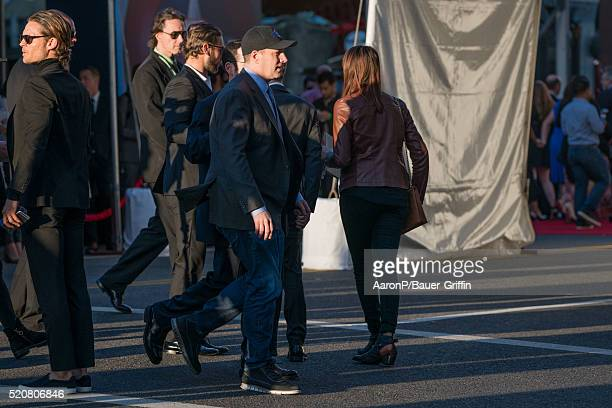 Producer Kevin Feige is seen outside the premiere of 'Captain America Civil War' on April 12 2016 in Los Angeles California