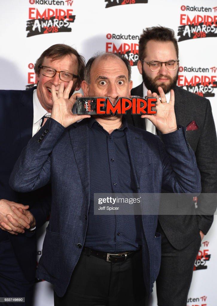 Rakuten TV EMPIRE Awards 2018 - Winners Room