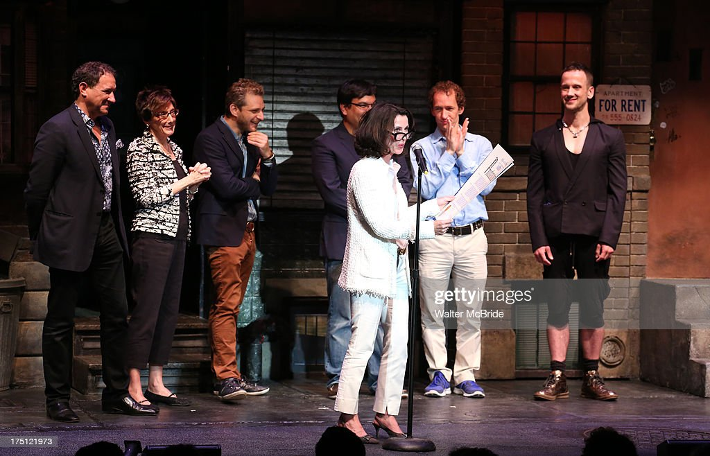 """""""Avenue Q"""" 10th Year Anniversary Performance - Curtain Call : News Photo"""