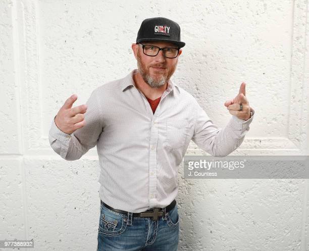 Producer Kevin Mullens poses for a portrait during the 22nd Annual American Black Film Festival at the Loews Miami Beach Hotel on June 15 2018 in...