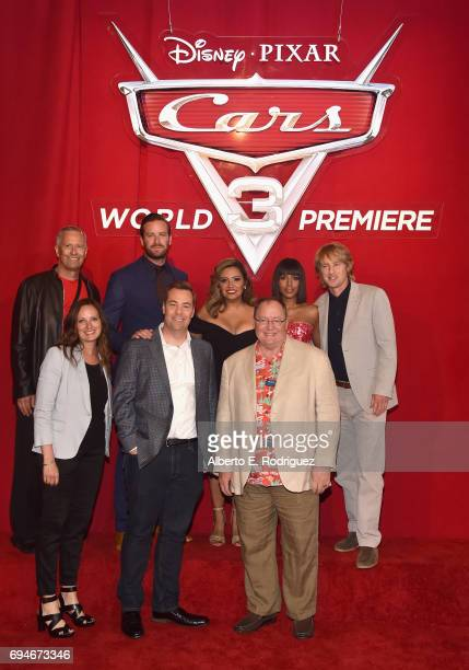 Producer Kevin Reher actors Armie Hammer Cristela Alonzo Kerry Washington and Owen Wilson CoProducer Andrea Warren Director Brian Fee and executive...