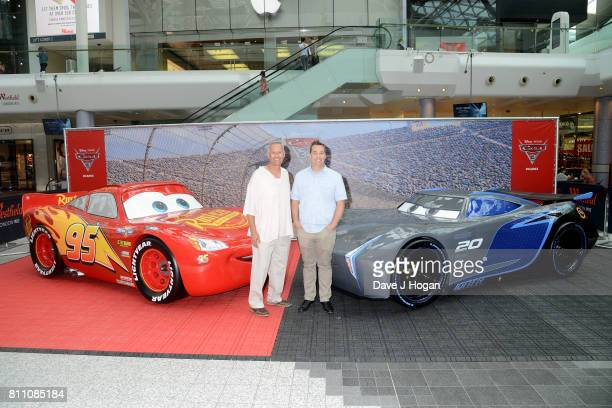 Producer Kevin Reher and director Brian Fee attend the charity gala screening of 'Cars 3' at Vue Westfield on July 9 2017 in London England