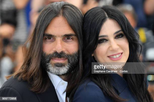 Producer Khaled Mouzanar and director Nadine Labaki attend 'Capharnaum' Photocall during the 71st annual Cannes Film Festival at Palais des Festivals...