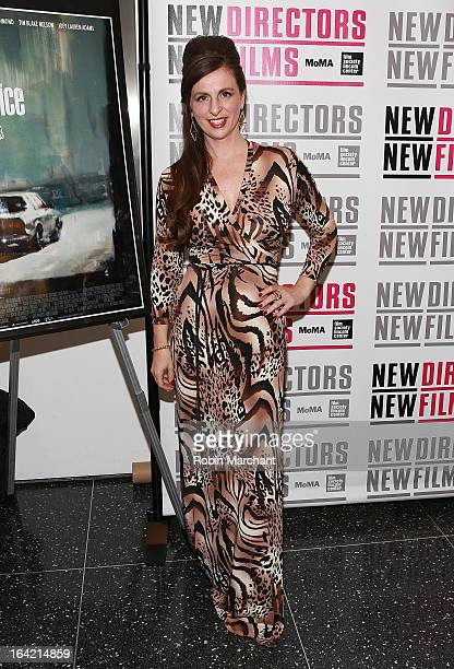 Producer Kim Jackson attends the New Directors/New Films 2013 Opening Night screening of Blue Caprice at the Museum of Modern Art on March 20 2013 in...