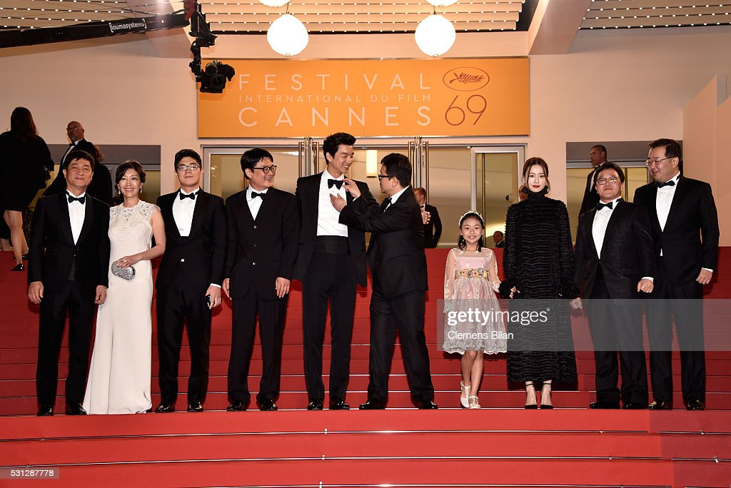 """""""Train To Busan """" - Red Carpet Arrivals - The 69th Annual Cannes Film Festival"""