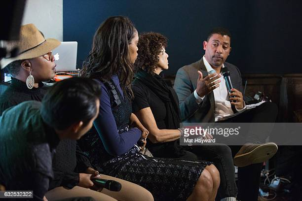 Producer Kimberly Steward Actor/Direct Justin Chon Producer Taj Paxton Funa Maduka Producer Stephanie Allain and National Executive Director of...