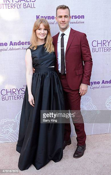 Producer Kimberly Van Der Beek and husband actor James Van Der Beek attend the 14th annual Chrysalis Butterfly Ball sponsored by Audi Kayne Anderson...