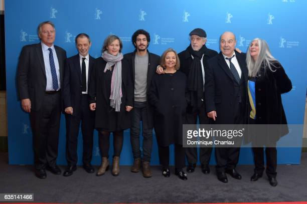Producer Kirk D'Amico, director of photography Jose Luis Alcaine, producer Anne Deluz, actor Chino Darin, producer Cristina Huete, director Fernando...