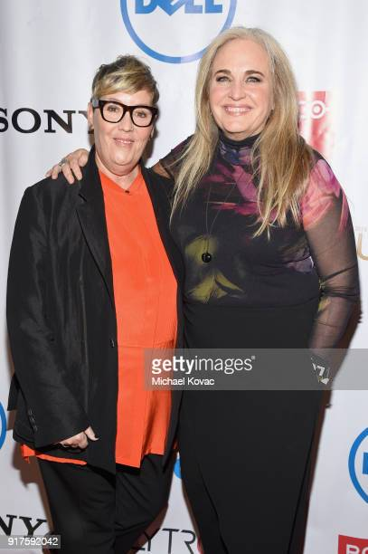 Producer Kori Rae and honoree Darla K Anderson attend the Advanced Imaging Society 2018 Lumiere Awards presented by Dell and Cisco at Steven J Ross...