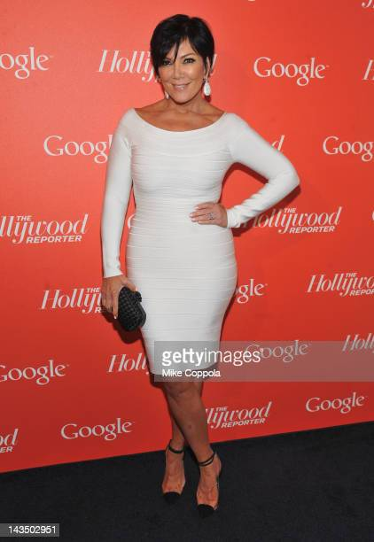Producer Kris Jenner attends Google Hollywood Reporter Host an Evening Celebrating The White House Correspondents' Weekend on April 27 2012 in...