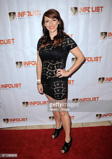Producer Kristen Nedopak of 'The Geekie Awards' arrives for the InfoList PreOscar Soiree And Birthday Party for Jeff Gund held at OHM Nightclub on...