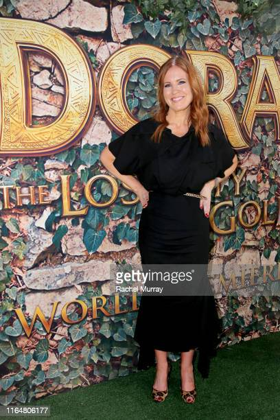 """Producer Kristin Burr attends the """"Dora and the Lost City of Gold"""" World Premiere at the Regal LA Live on July 28, 2019 in Los Angeles, California."""
