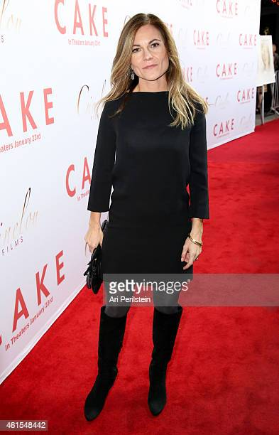 Producer Kristin Hahn attends the Los Angeles Premiere Of CAKE at ArcLight Hollywood on January 14 2015 in Hollywood California