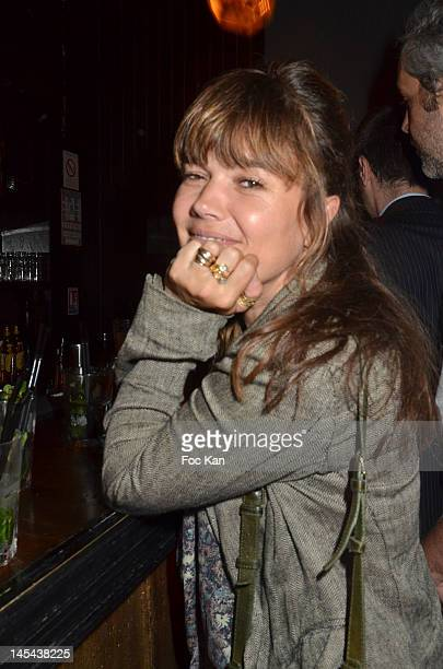 Producer Kristina Larsen attends the '7 Days in Havana' Premiere after party at La Favela Chic on May 29 2012 in Paris France