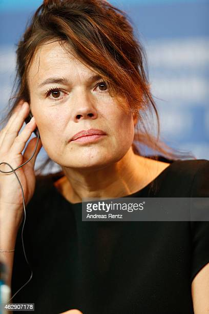 Producer Kristina Larsen attends the 'Diary of a Chambermaid' Journal d'une femme de chambre) press conference during the 65th Berlinale...