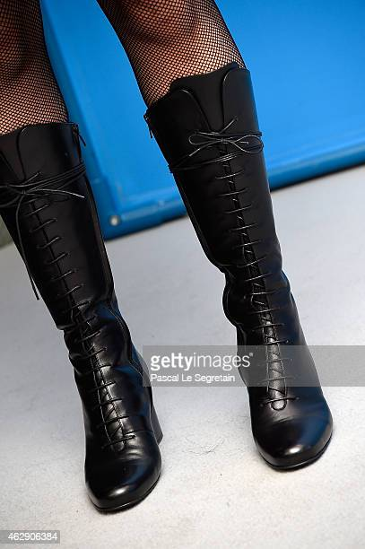 Producer Kristina Larsen attends the 'Diary of a Chambermaid' photocall during the 65th Berlinale International Film Festival at Grand Hyatt Hotel on...