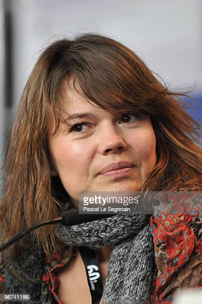 Producer Kristina Larsen attends the 'L'Arbre Et La Foret' Press Conference during day six of the 60th Berlin International Film Festival at the...