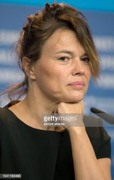 Producer Kristina Larsen attends the press conference for 'Diary of a Chambermaid' during the 65th annual Berlin Film Festival, in Berlin, Germany,...