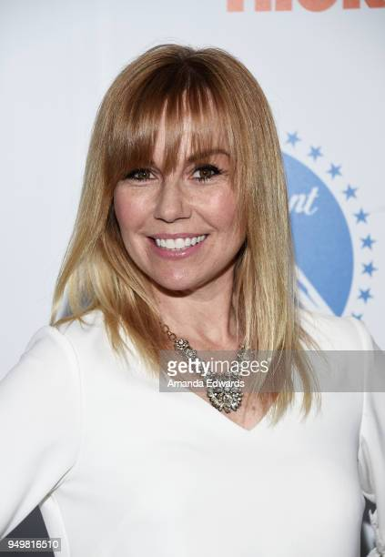 Producer Kristyn Burtt arrives at the 9th Annual Thirst Gala at The Beverly Hilton Hotel on April 21 2018 in Beverly Hills California