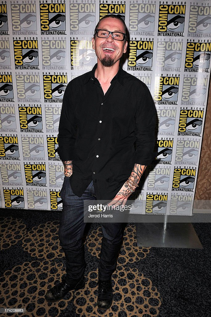 Producer Kurt Sutter attends the 'Sons Of Anarchy' press line during Comic-Con International 2013 at San Diego Convention Center on July 21, 2013 in San Diego, California.