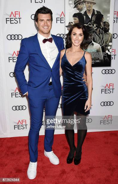 Producer Kyle Tekiela and wife Nicole Tekiela attend the screening of Netflix's 'Mudbound' at the Opening Night Gala of AFI FEST 2017 presented by...