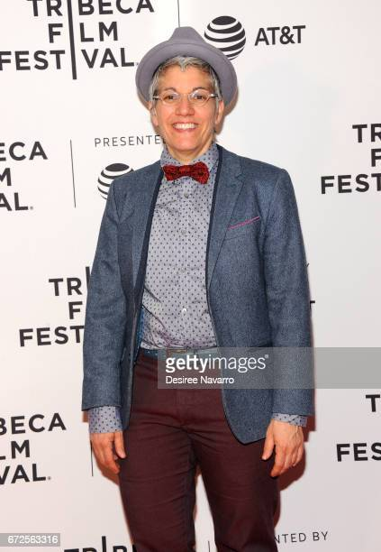 Producer LA Teodosio attends 2017 Tribeca Film Festival 'The Death And Life Of Marsha P Johnson' at Cinepolis Chelsea on April 21 2017 in New York...