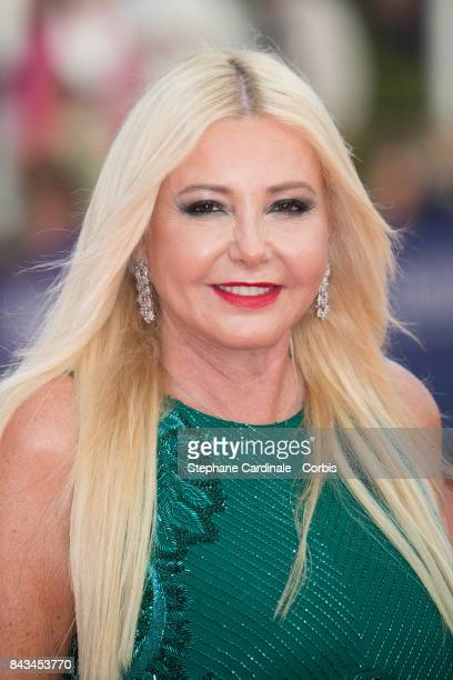 Producer Lady Monika Bacardi arrives for the screening of 'The Music of Silence' during the 43rd Deauville American Film Festival on September 6 2017...