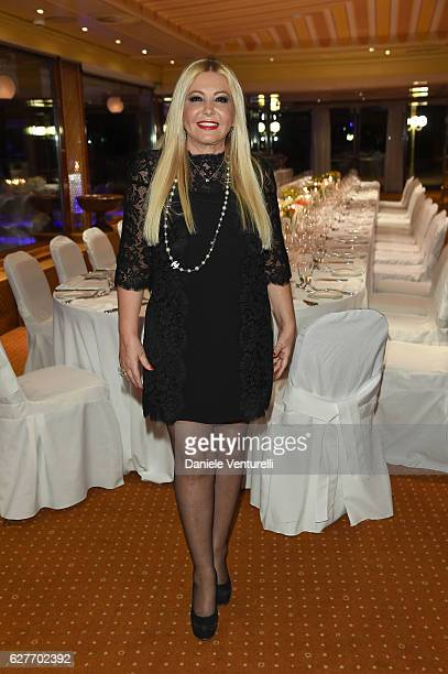Producer Lady Monika Bacardi of AMBI Group Grand Gala in Rome for Puerto Azul Resort and Andrea Iervolino's Birthday on December 4 2016 in Rome Italy