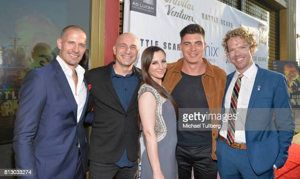 Producer Lane Carlson director Danny Buday actress/Producer Heather McComb actor Zane Holtz and executive producer George YoungWarner attend the Los...