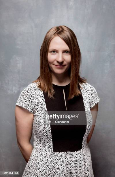 Producer Larissa Rhodes from the film Chasing Coral is photographed at the 2017 Sundance Film Festival for Los Angeles Times on January 21 2017 in...