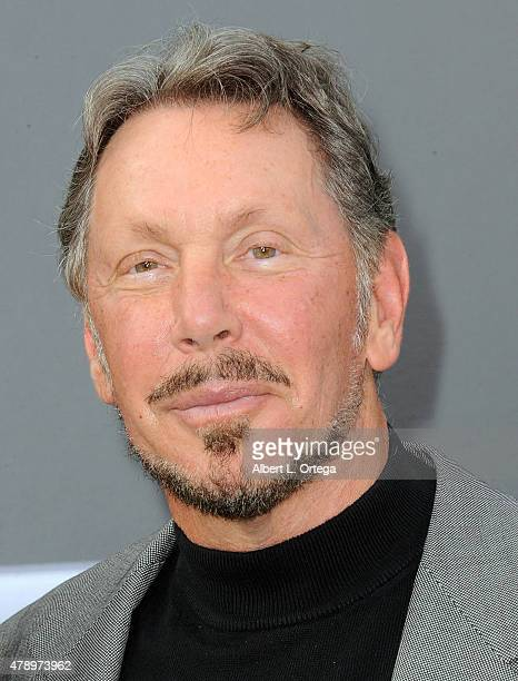 Producer Larry Ellison arrives for the Premiere Of Paramount Pictures' 'Terminator Genisys' held at Dolby Theatre on June 28 2015 in Hollywood...