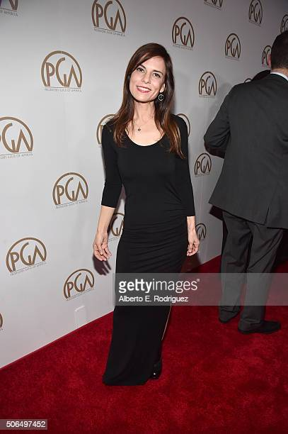 Producer Lati Grobman attends the 27th Annual Producers Guild Of America Awards at the Hyatt Regency Century Plaza on January 23 2016 in Century City...