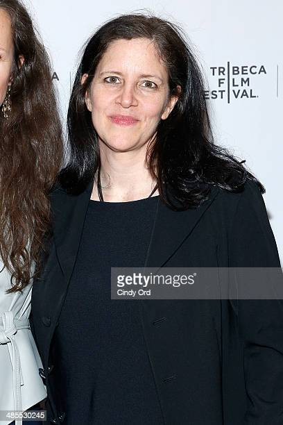 Producer Laura Poitras attends the 1971 Premiere during the 2014 Tribeca Film Festival at Chelsea Bow Tie Cinemas on April 18 2014 in New York City