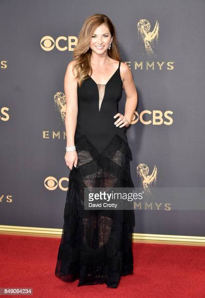Producer Lauren Zima attends the 69th Annual Primetime Emmy Awards at Microsoft Theater on September 17 2017 in Los Angeles California