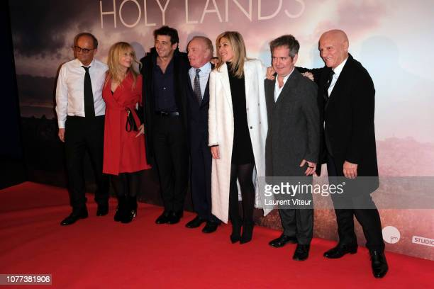Producer Laurent Bacri Actress Rosanna Arquette Actor Patrick Bruel Actor James Caan Director Amanda Sthers Actor Tom Hollander and Producer Alain...