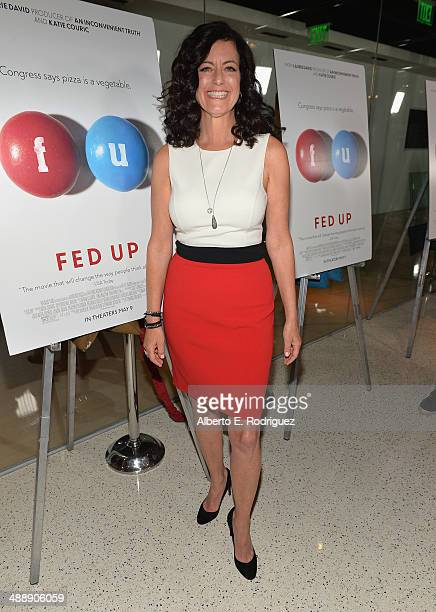 Producer Laurie David attends the premiere of Atlas Films' 'Fed Up' at Pacfic Design Center on May 8 2014 in West Hollywood California