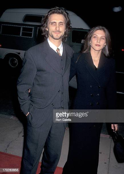 Producer Lawrence Bender and girlfriend Kim Green attend the From Dusk Till Dawn Hollywood Premiere on January 17 1996 at the Cinerama Dome in...
