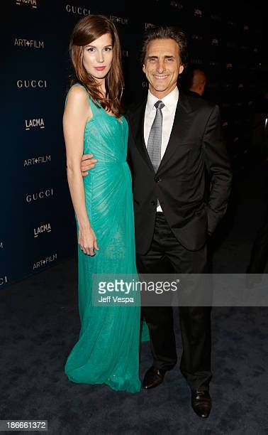 Producer Lawrence Bender and Michelle Box attend the LACMA 2013 Art + Film Gala honoring Martin Scorsese and David Hockney presented by Gucci at...