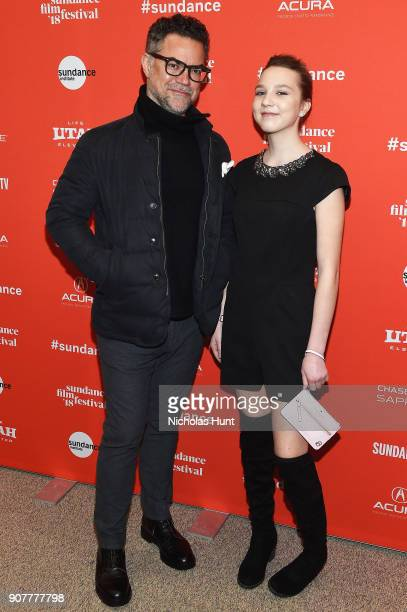 Producer Lawrence Inglee and actor Isabelle Nélisse attend The Tale Premiere during 2018 Sundance Film Festival at Eccles Center Theatre on January...